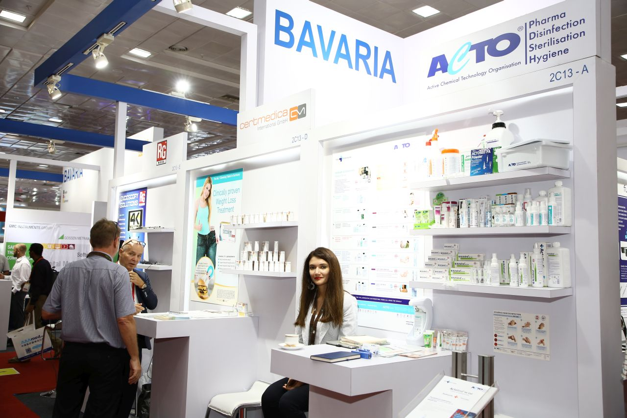 Medical Devices Trade Shows - Exhibitor Zone - Medicall