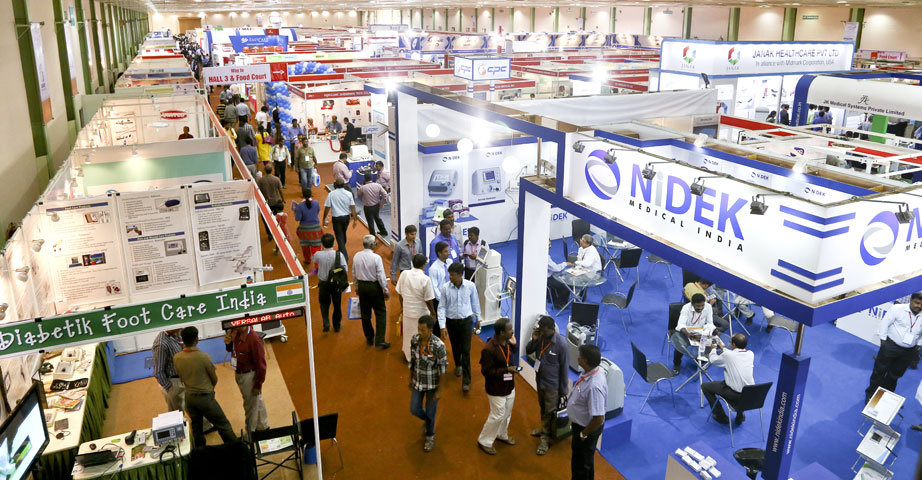 Exhibition Display Equipment : Medical devices trade shows exhibitor zone medicall
